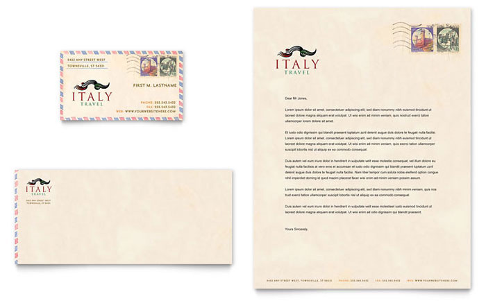 travel business with letterheads 5
