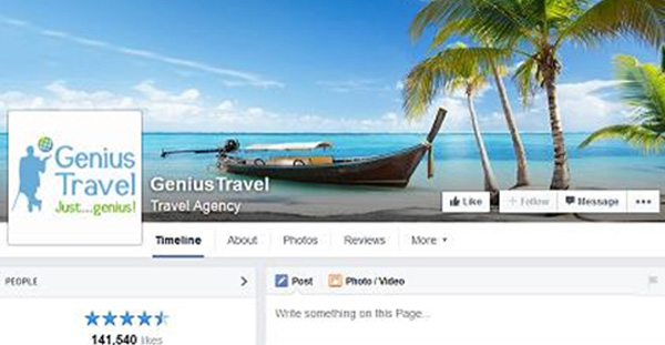 travel business with social media covers 4