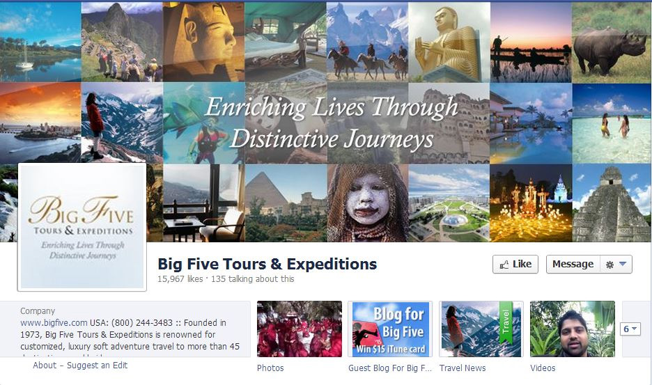 travel business with social media covers 6