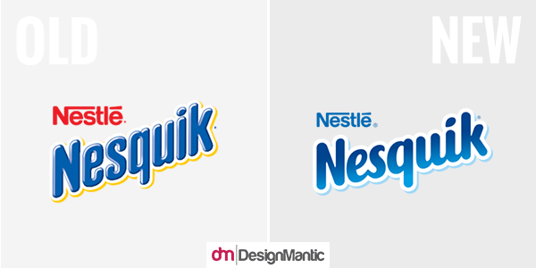 nesquik old and new logo