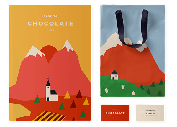seasonal chocolate packaging 2