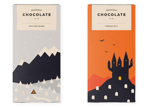 seasonal chocolate packaging 3