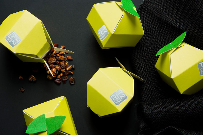 tea mini fruits packaging 3