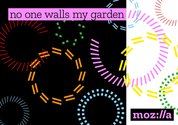 no one walls my garden