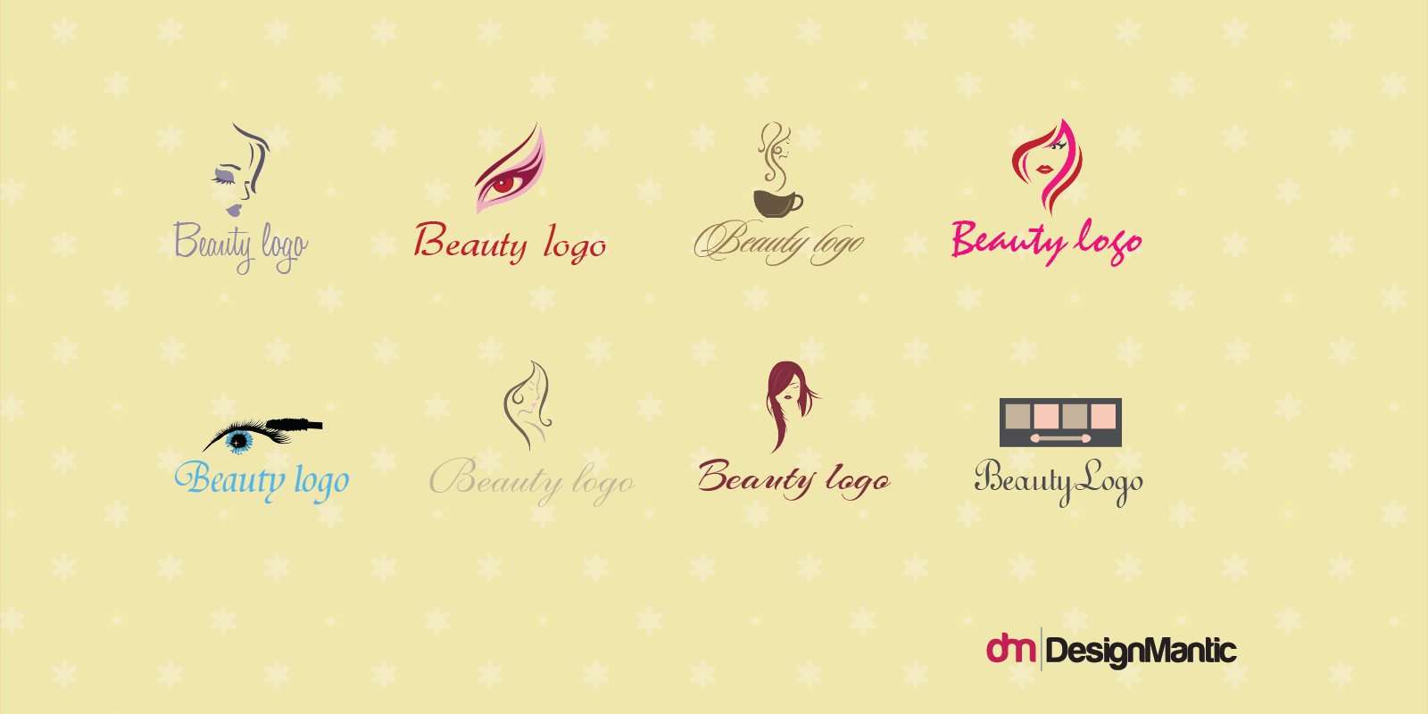 DesignMantic Script Logos For Beauty