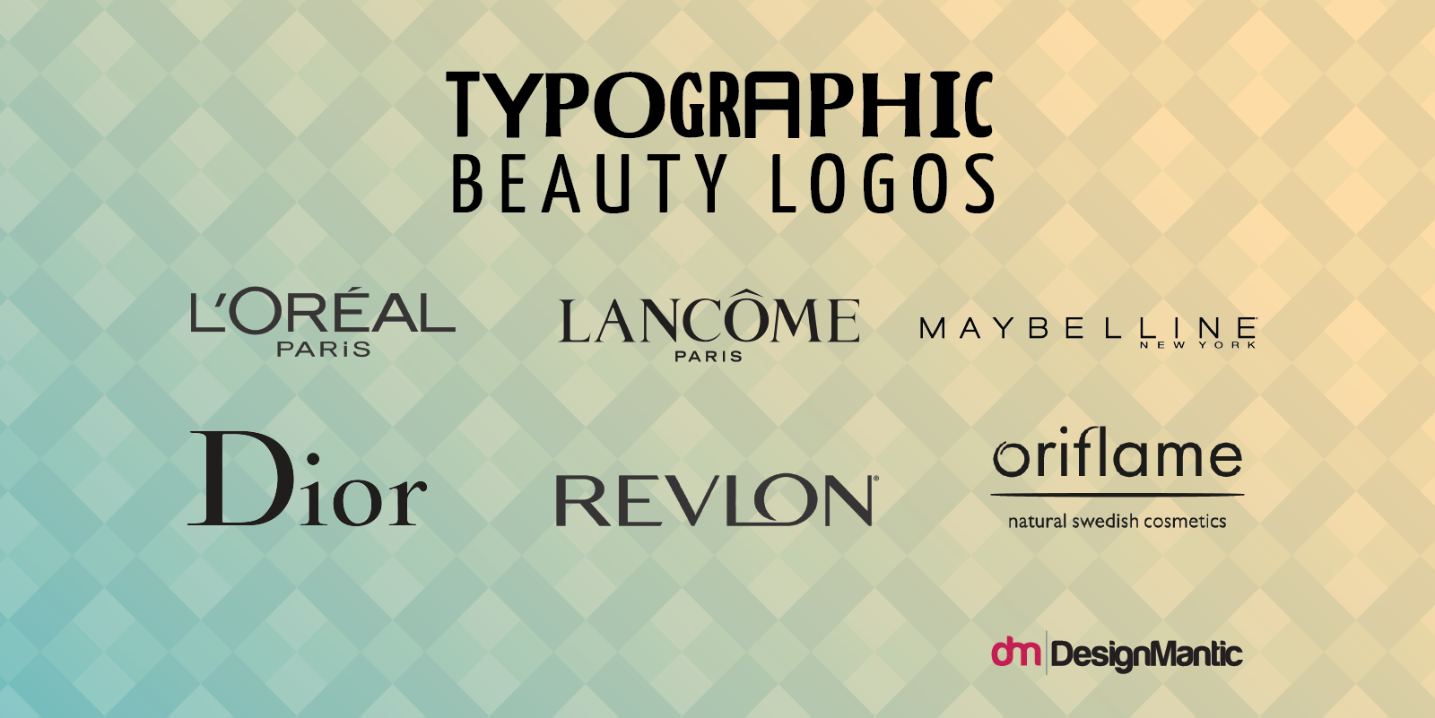 Typographic Beauty Wordmarks