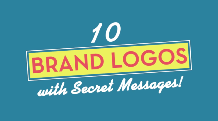 Brand Logos with Secret Messages