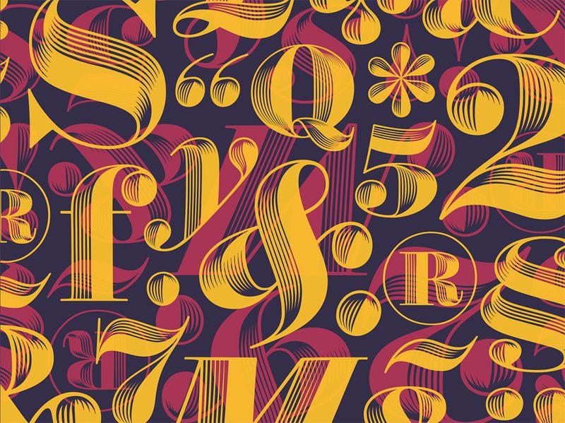 Algorithm Driven Typography
