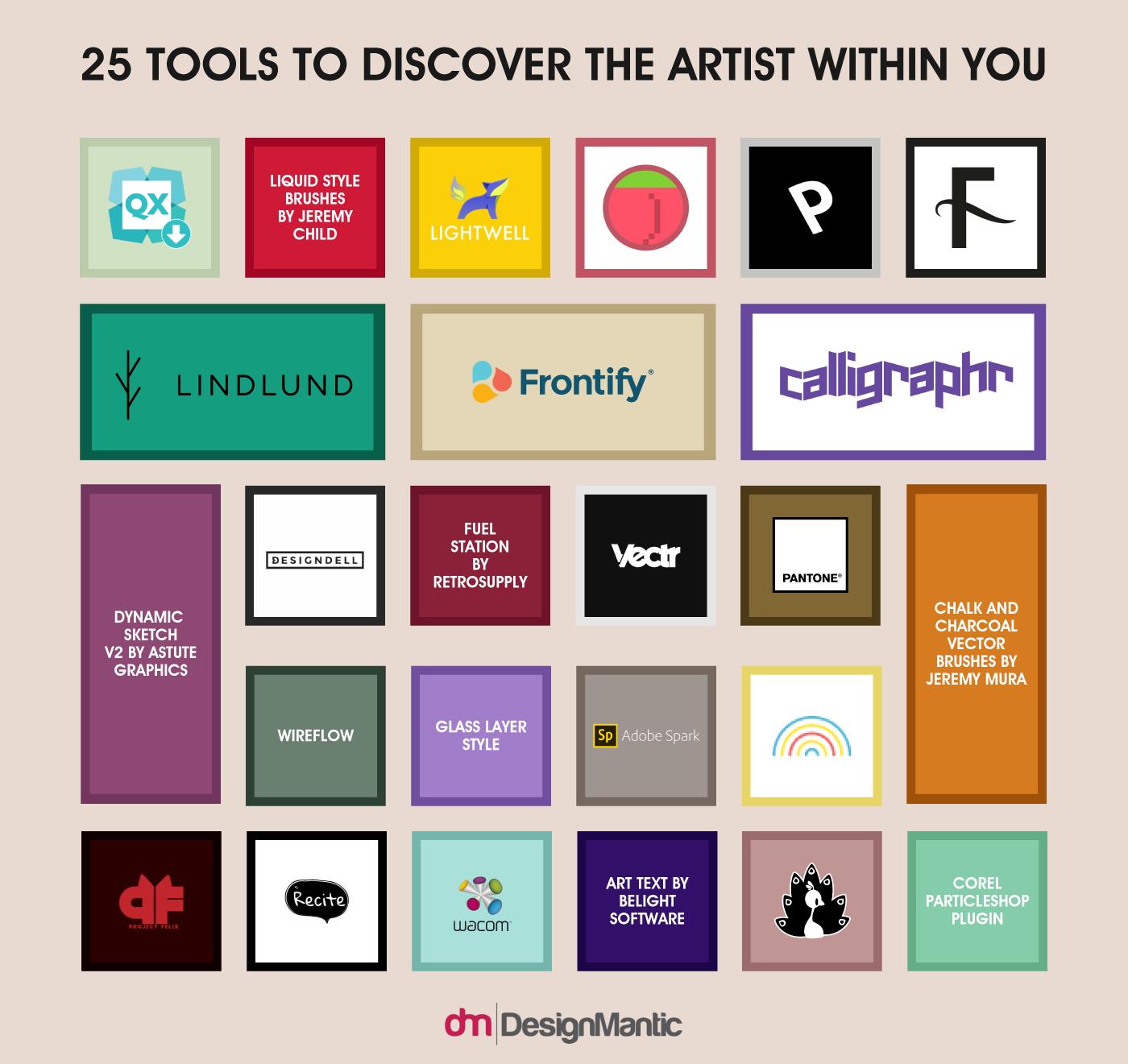 25 Design Tools
