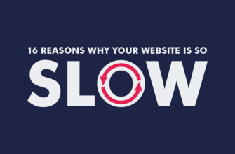 Slow website reasons