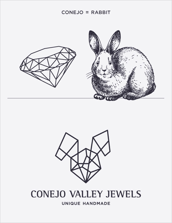Conejo Valley Jewels Logo B&W