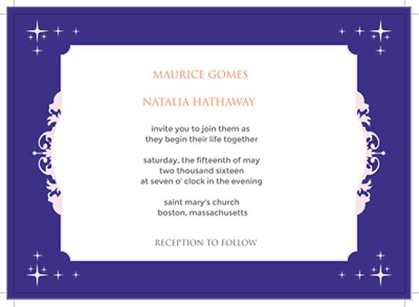 DIY your wedding invitation