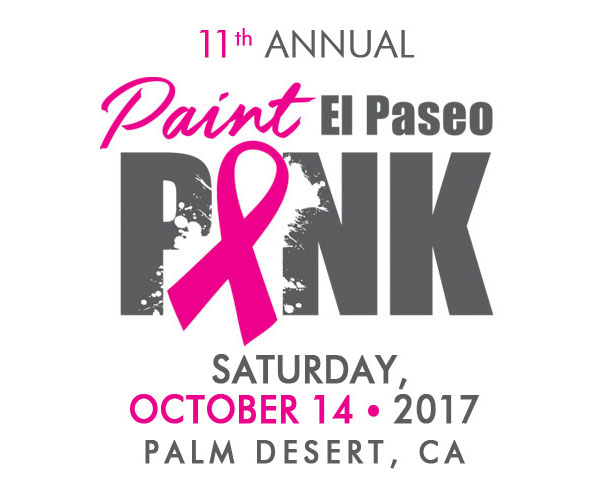 Desert Cancer Foundation Paint El Paseo Pink
