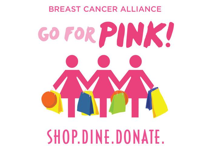 GoForPink Shop Dine Donate
