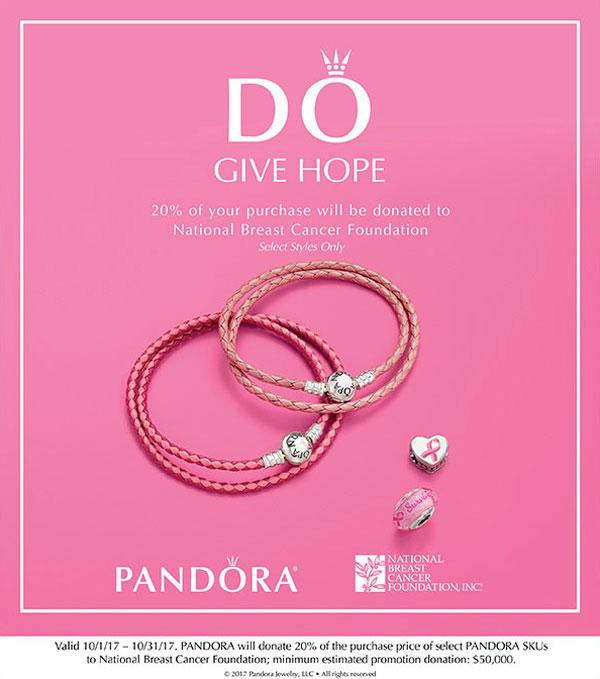 Pandora Think Pink