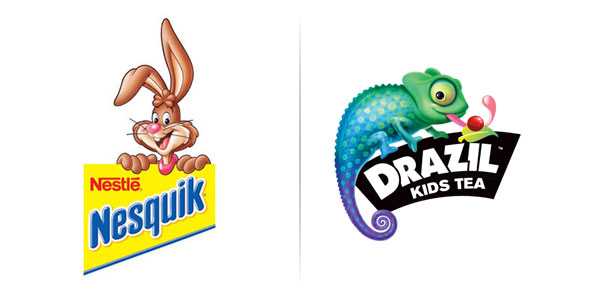 Nesquick And Drazil Logo