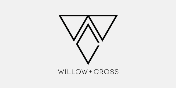 Willow + Cross Logo