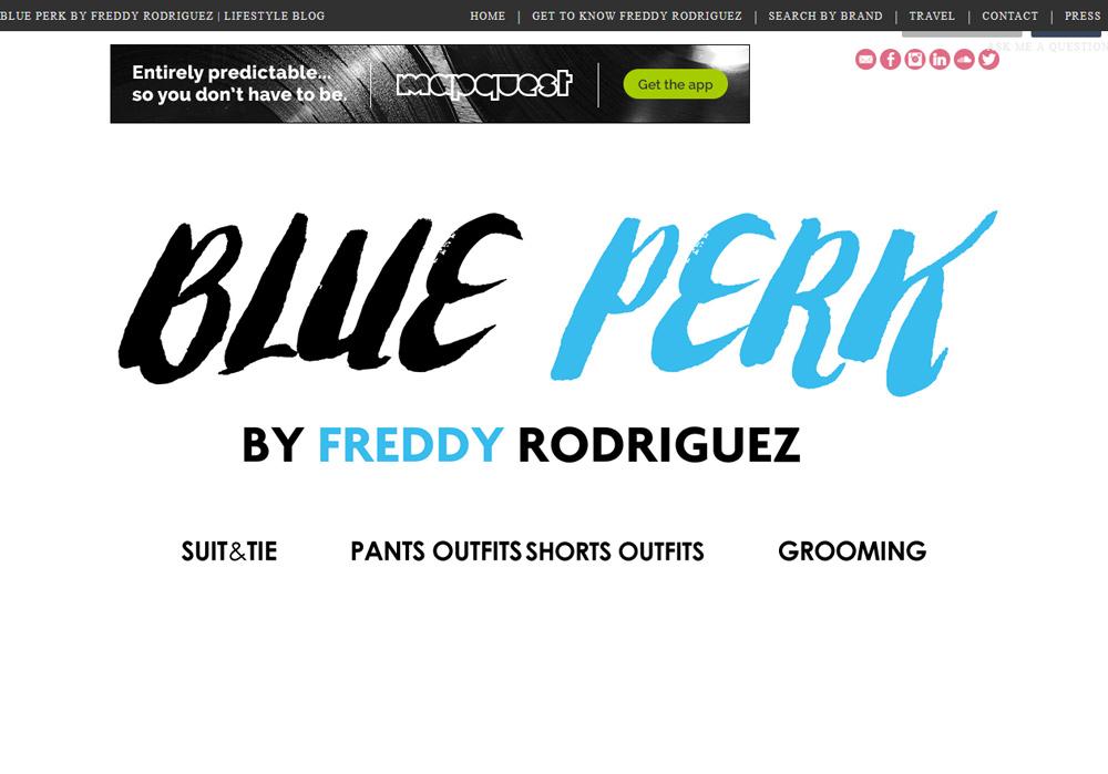 Blue Perk
