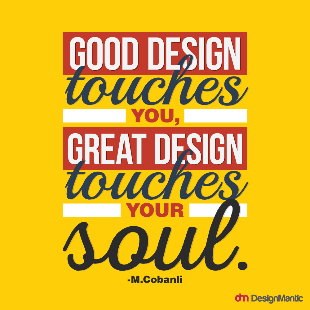 Good Design vs Great Design