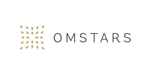 Omstars Yoga Logo
