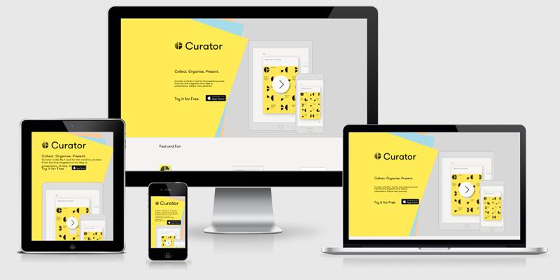 Curator app