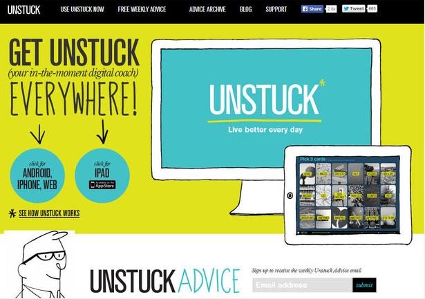 Unstuck app