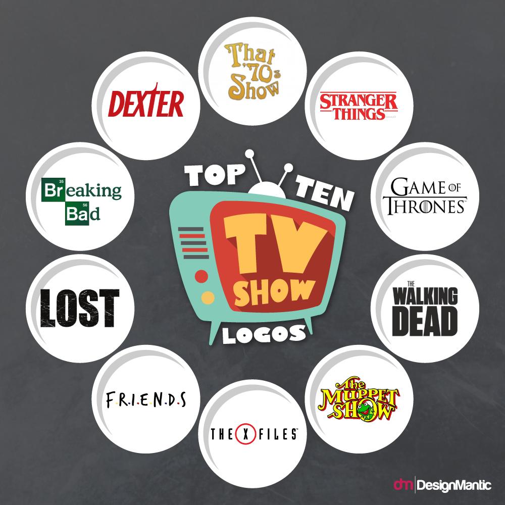 Top 10 TV Show Logos