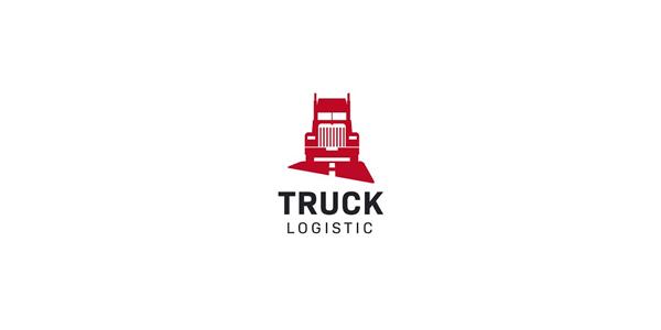 Truck Logistic Logo