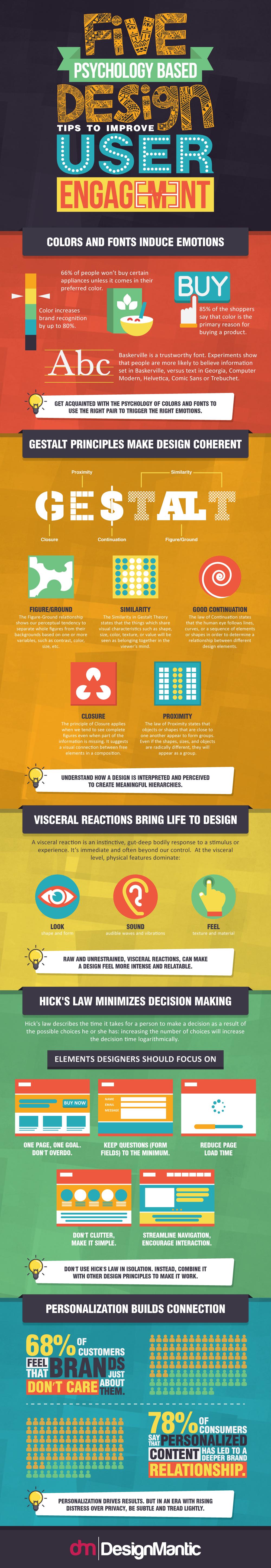 Psychology based Design Tips