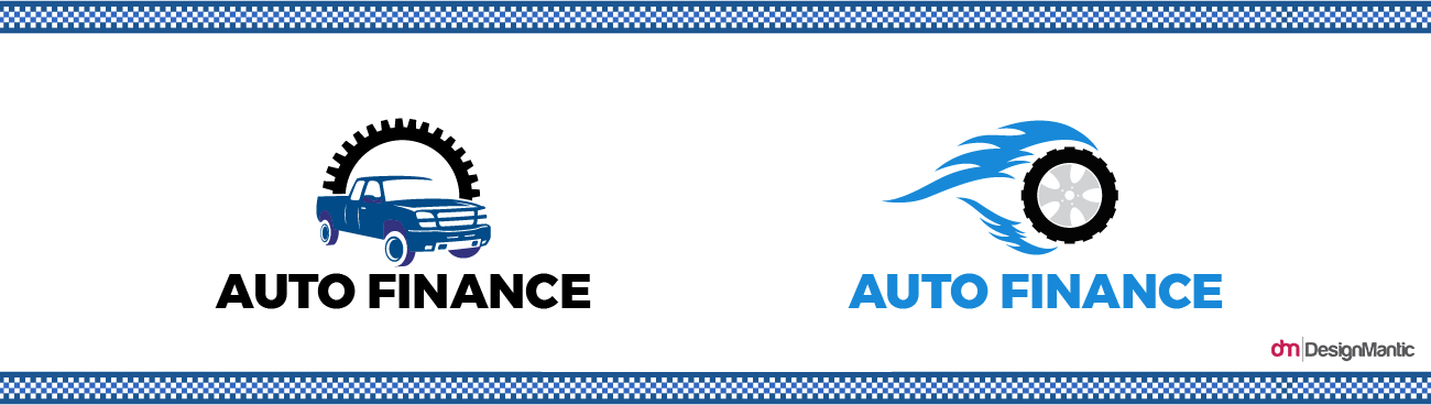 Blue Auto Finance Logo