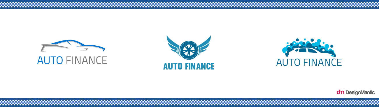 Blue Car Finance Logo