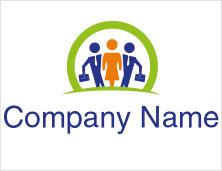 Businesswoman Logo