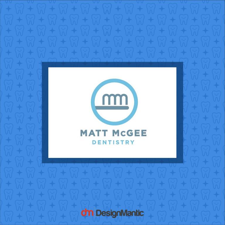 Matt Mcgee Dentistry Logo