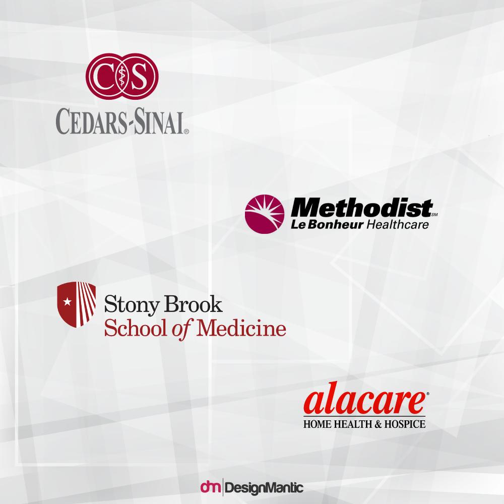 Red Medical Logos