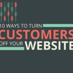 Turn customers off website