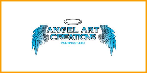 Angel Art Creations Painting Studio Logo