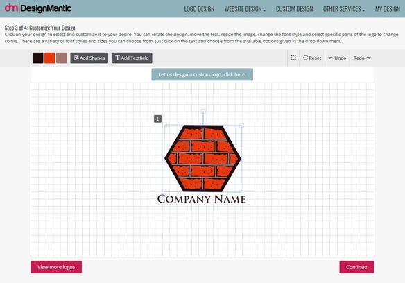 Customizing The Logo Size