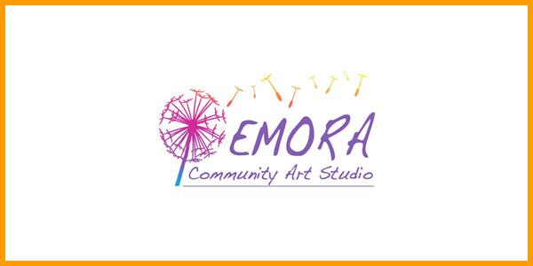 Emora-Community Art Studio Logo