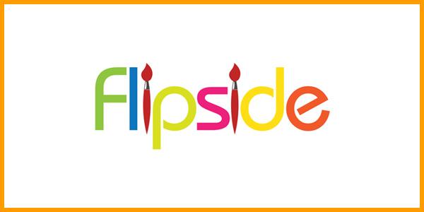 Flipside Art Studio Logo