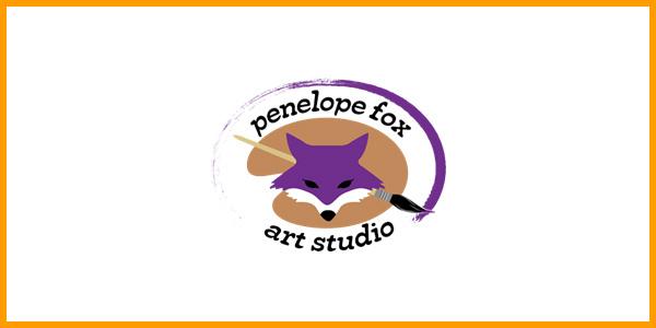 Penelope Fox Art Studio Logo