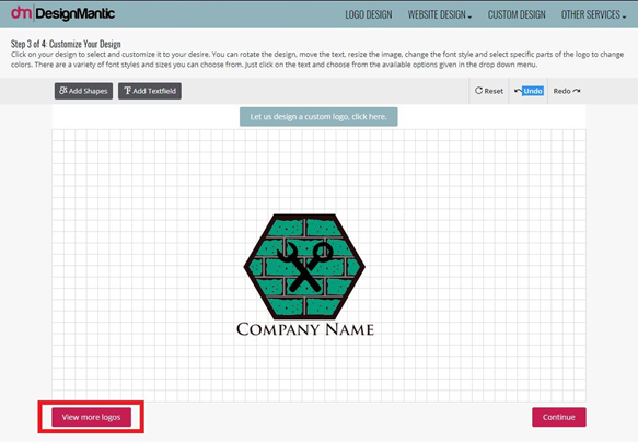 View More Logo Options