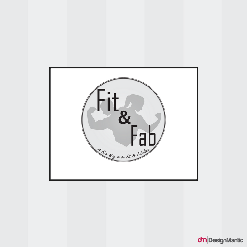 Fit And Fab Gym Logo
