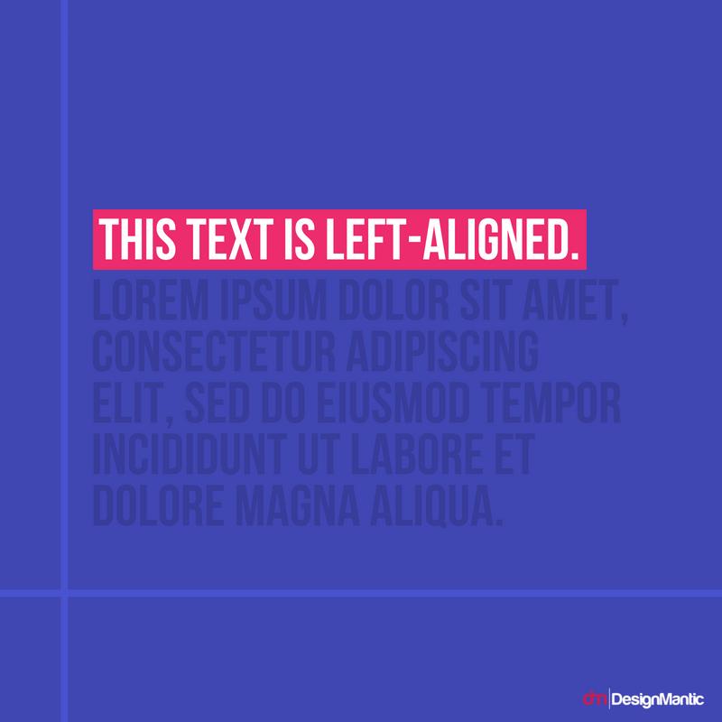Left Aligned