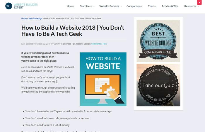 Website Builder Expert