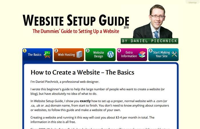 Website Setup Guide