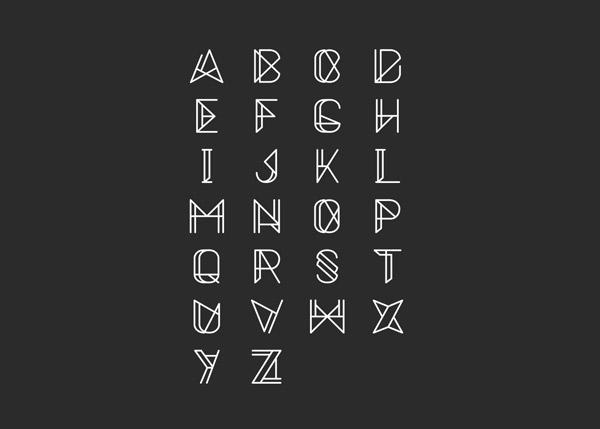 Metrica Font