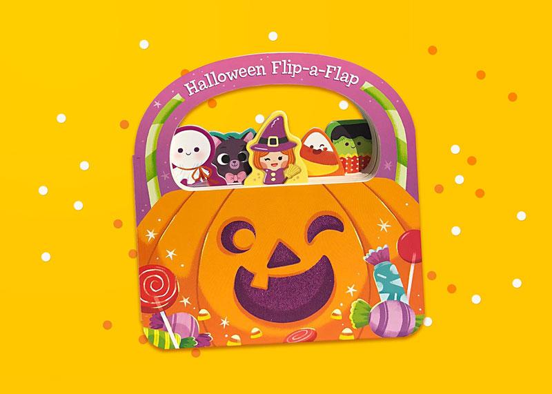 Halloween Flip A Flap Book
