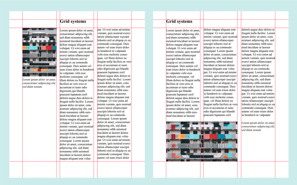Multiple Page Layouts