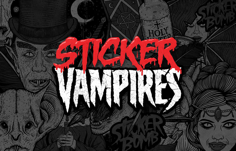 Sticker Vampires