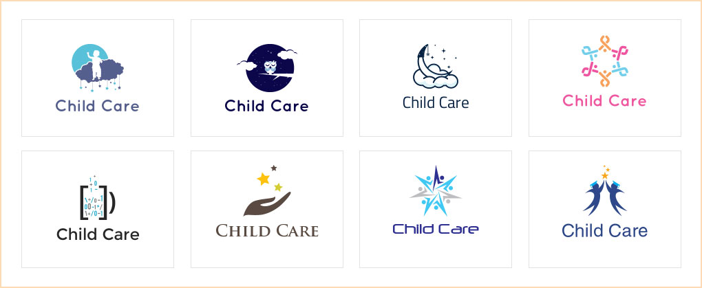 Child Care Logos